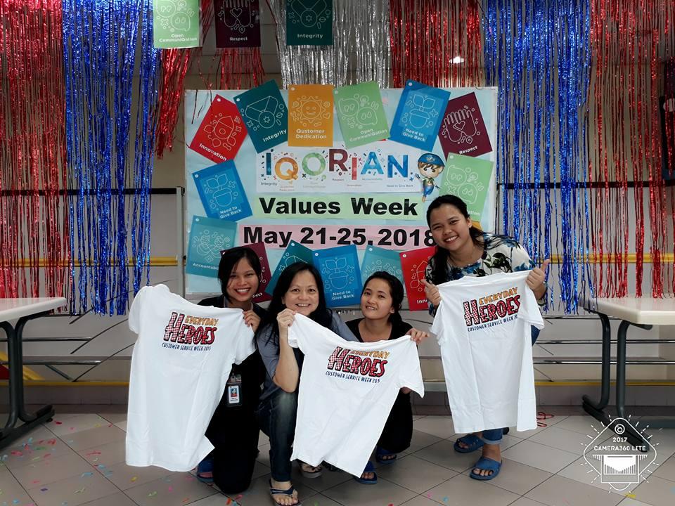 iQorian Values Week 2018